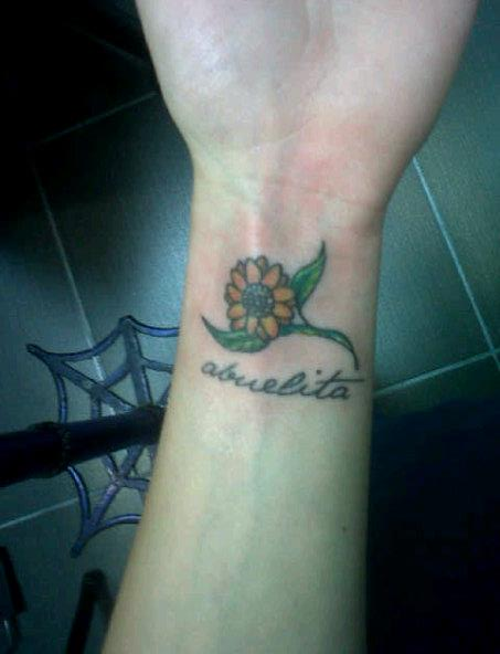 Small Sunflower Tattoo Meaning: Small Flower Tattoos Designs, Ideas And Meaning