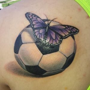 Soccer Tattoos Images