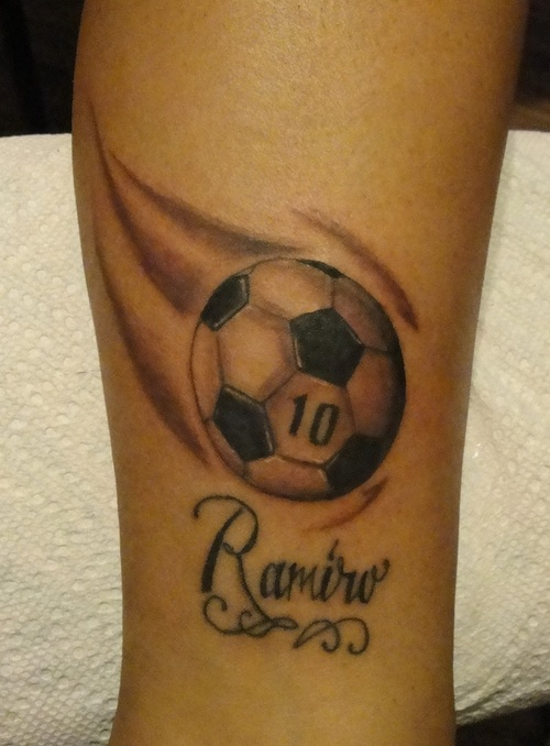 Soccer Tattoos Designs Ideas And Meaning For You