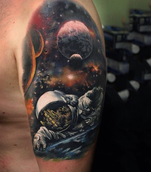 Space Tattoos Designs Ideas And Meaning For You