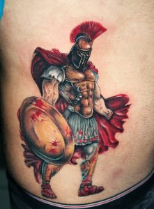 Spartan Tattoo Designs