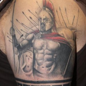 Spartan Tattoo Ideas
