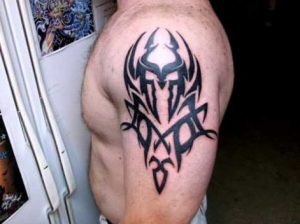 Spartan Tribal Tattoo