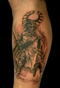 Spartan Warrior Tattoos