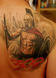 Spartans Tattoos