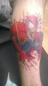 Spiderman Tattoo Ideas