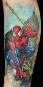 Spiderman Tattoo Pictures