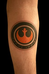 Star Wars Logo Tattoo