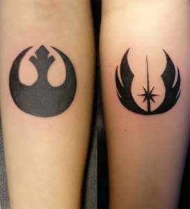 Star Wars Symbol Tattoos