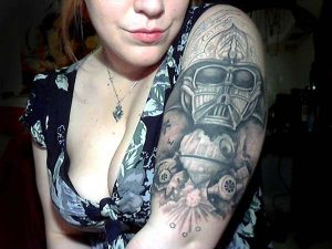 Star Wars Tattoo Girl