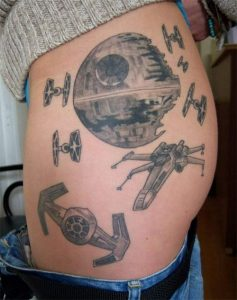Star Wars Tattoos for Women