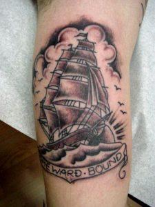 Tall Ship Tattoo