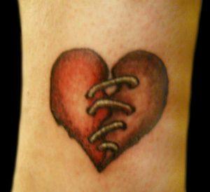Tattoo Broken Heart