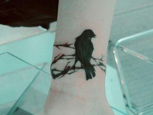 Tattoo Crow