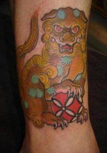 Tattoo Foo Dog