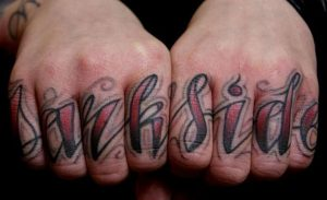 Tattoo Knuckles