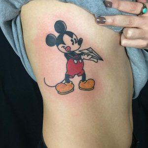 Tattoo Mickey Mouse