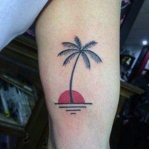 Tattoo Palm Trees