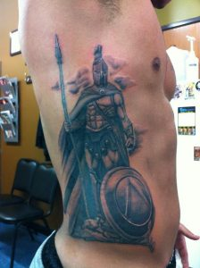 Tattoo Spartan