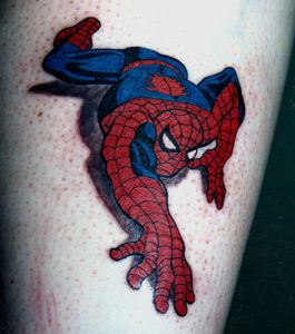 Tattoo Spiderman