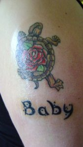 Tattoo of Baby Names
