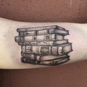 Tattoo of Books