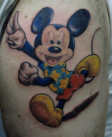 Mickey Mouse Tattoos Designs, Ideas And Meaning