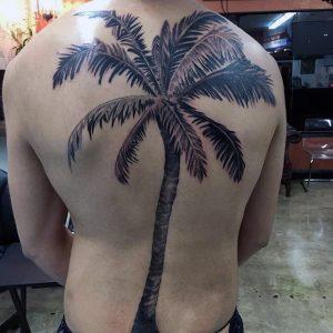 Tattoo of Palm Tree