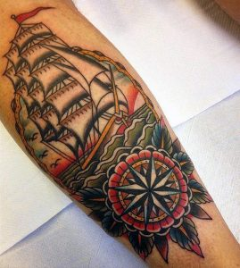 Tattoo on Calf