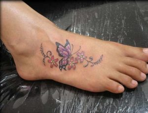 Tattoo on Feet