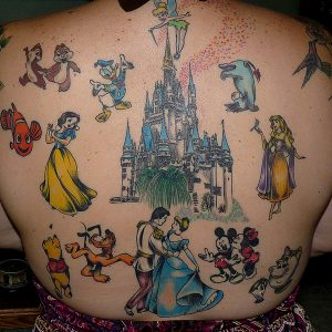 Tattoos Disney