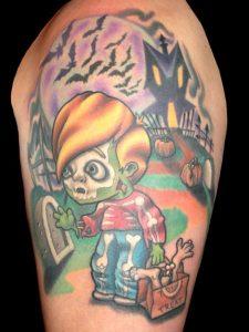 Tattoos Halloween