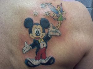 Tattoos Mickey Mouse