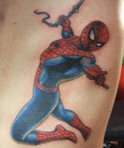 Tattoos Spiderman