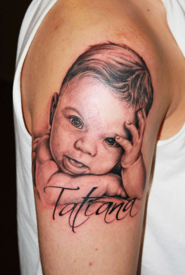 Baby Tattoos Designs, Ideas and Meaning | Tattoos For You