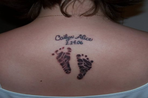 Tattoos of Baby Names