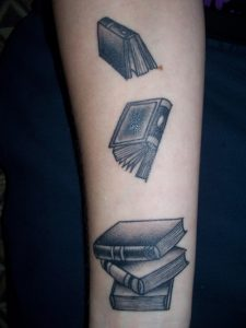 book tattoos designs ideas and meaning tattoos for you. Black Bedroom Furniture Sets. Home Design Ideas