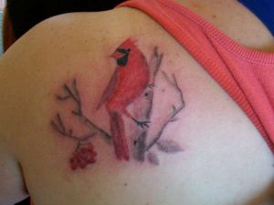 Tattoos of Cardinals