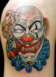 Tattoos of Clowns
