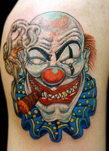 Tattoos of Clowns