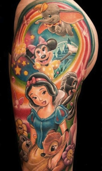 Tattoo Designs Disney: Disney Tattoos Designs, Ideas And Meaning