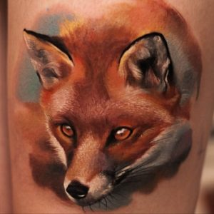 Tattoos of Foxes