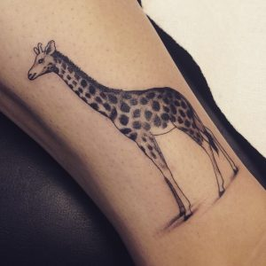 Tattoos of Giraffes