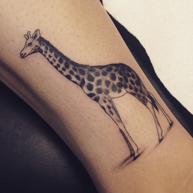 Giraffe Tattoos Designs Ideas And Meaning Tattoos For You