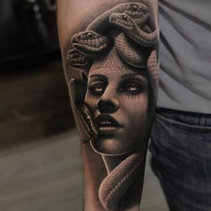Tattoos of Medusa