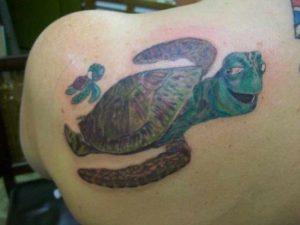 Tattoos of Sea Turtles