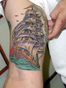 Tattoos of Ships