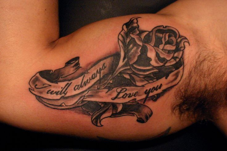 Tattoo Words For Girls Bicep Tattoos Designs,...