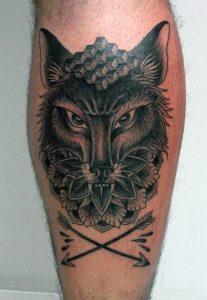 Tattoos on Calf
