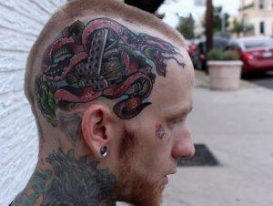 Tattoos on the Head